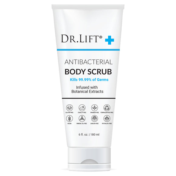 Dr. Lift Antibacterial Body Scrub, 6 oz