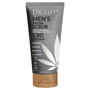 Dr. Lift Men's CBD Infused Facial Scrub