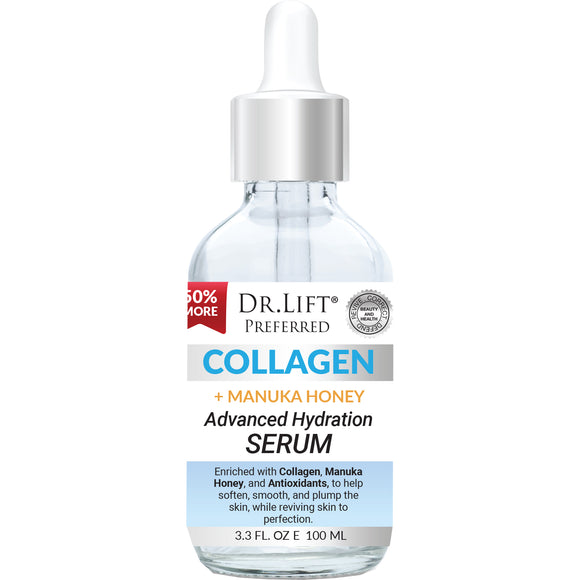 Dr. Lift¨ Collagen and Manuka Honey Serum, 3.3 fl oz