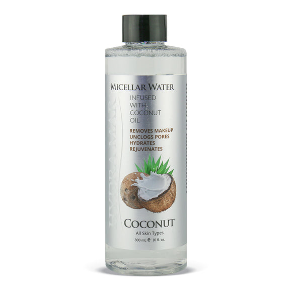 Hydra Mar Coconut Micellar Water, 10 oz