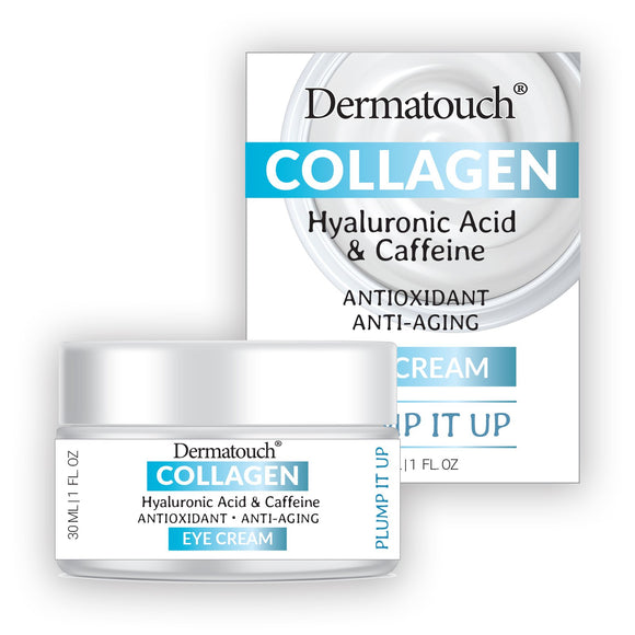 Dermatouch Collagen Hyaluronic & Caffeine Eye Cream, 1.7 fl oz
