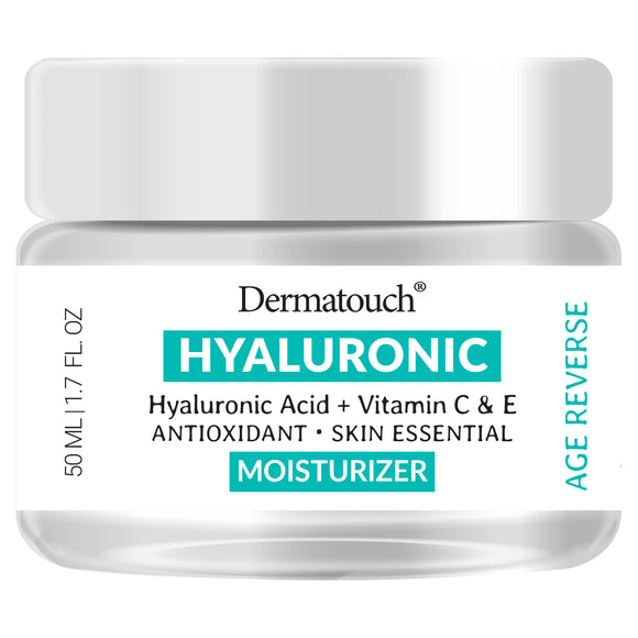 Dermatouch Hyaluronic Acid Moisturizer with Vitamin C & E, 1.7 fl oz