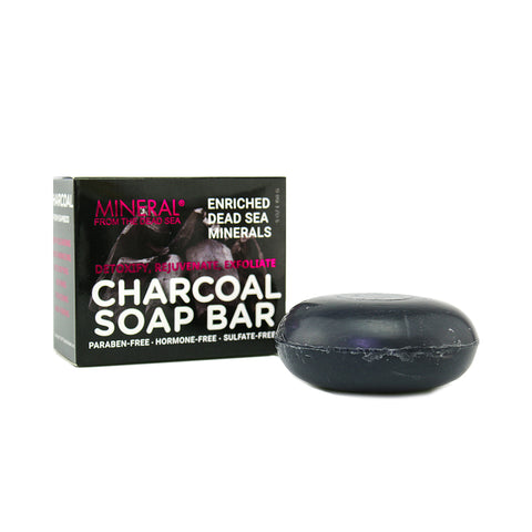 Mineral from the Dead Sea Charcoal Soap Bar