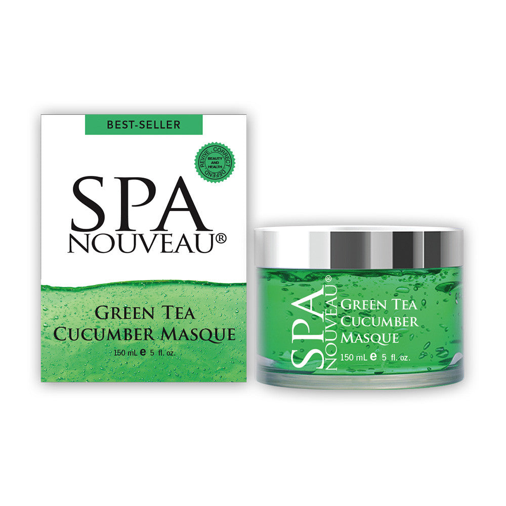 Spa Nouveau Green Tea Cucumber Masque, 5 oz.