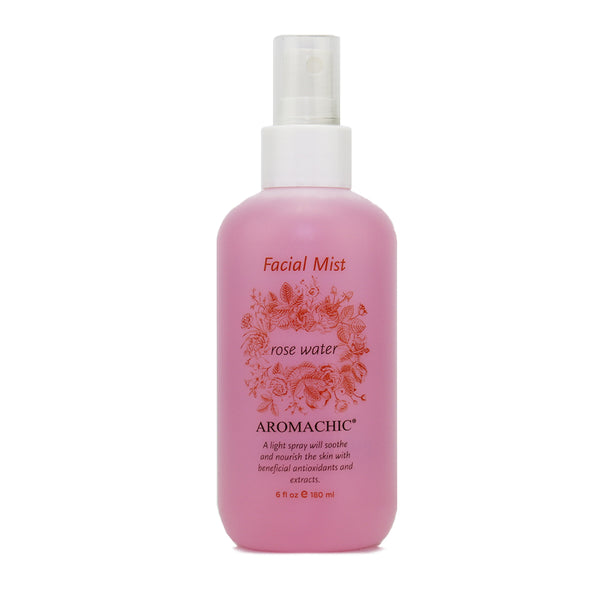 Aromachic Rose Water Facial Mist, 6 oz