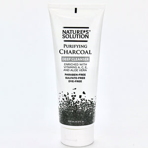 Nature's Solution Purifying Charcoal Deep Cleanser