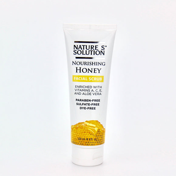 Nature's Solution Nourishing Honey Facial Scrub