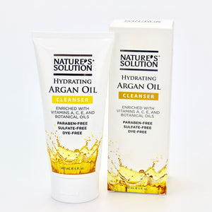 Nature's Solution Hydrating Argan Oil Cleanser
