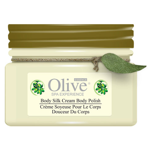 Olive Essence Body Silk Cream Body Polish, 4 oz