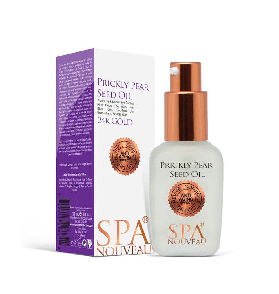 Spa Nouveau Prickly Pear Oil Home Spa Collection Store