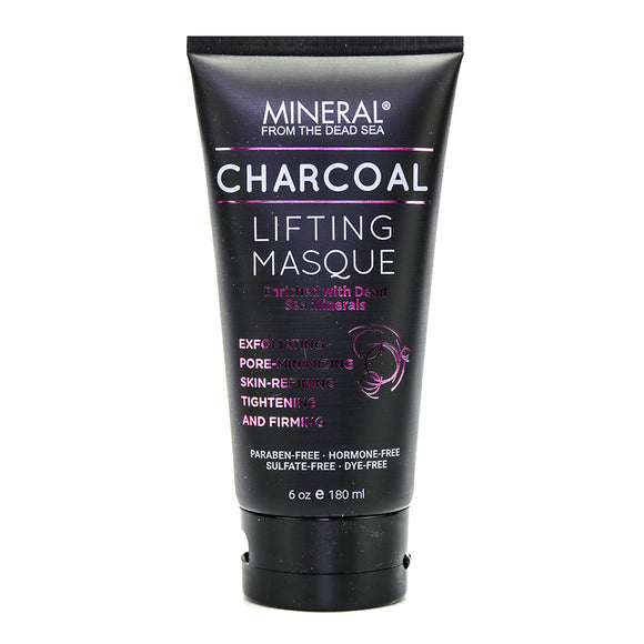 Mineral from the Dead Sea Charcoal Lifting Masque, 6 oz