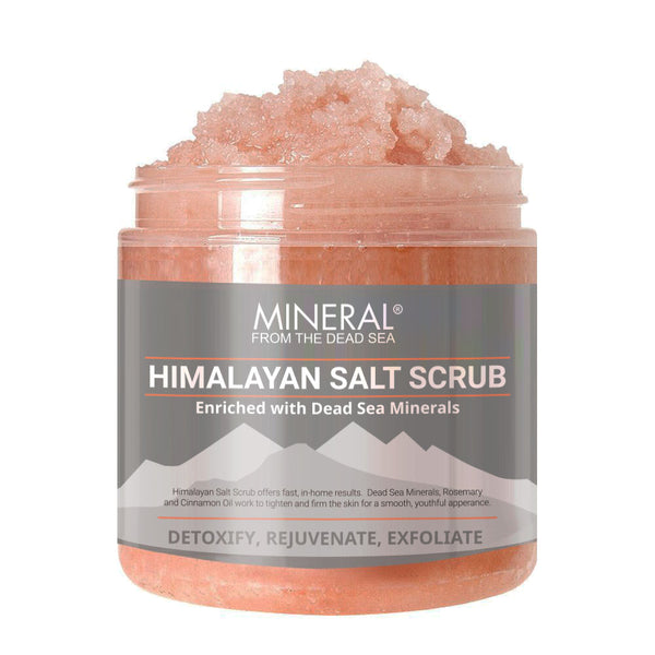 Mineral from the Dead Sea Himalayan Salt Scrub