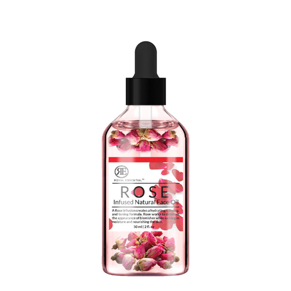 Royal Essential Rose Infused Natural Face Oil, 2 oz