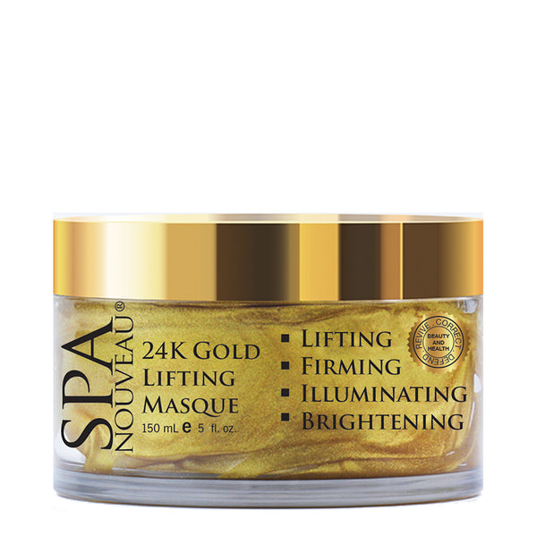 Spa Nouveau 24K Gold Lifting Masque, 5 oz