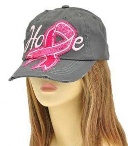 Breast Cancer Awareness Baseball Hat