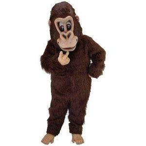 Brown Gorilla Mascot Costume