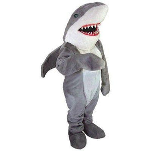 Sharky the Shark Mascot Costume
