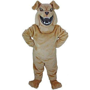 Bully the Bulldog Mascot Costume