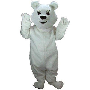 Snowball Bear Mascot Costume