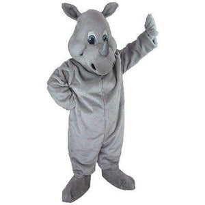 Happy Rhino Mascot Costume