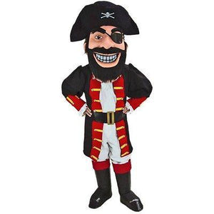 Pirate Captain Redbeard Mascot Costume