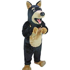 Doberman Dog Mascot Costume