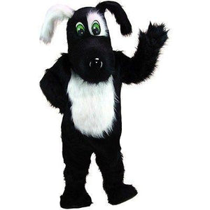 Blackie the Dog Mascot Costume
