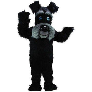 Black Terrier Dog Mascot Costume