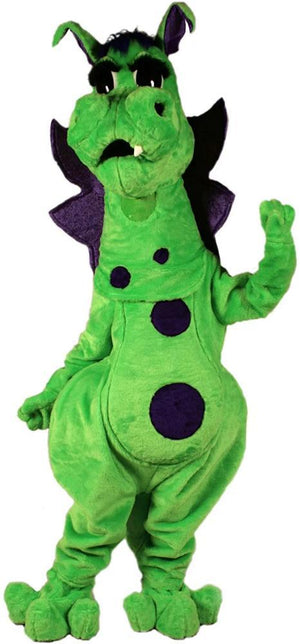 Fang the Dragon Mascot Costume