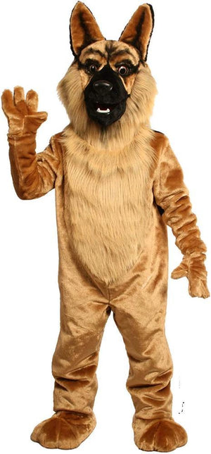 German Shepherd Mascot Costume