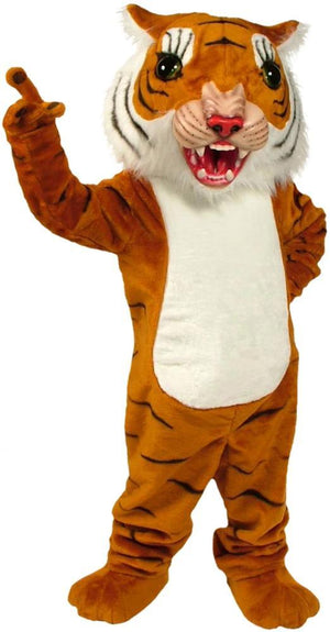 Big Cat Tiger Mascot Costume