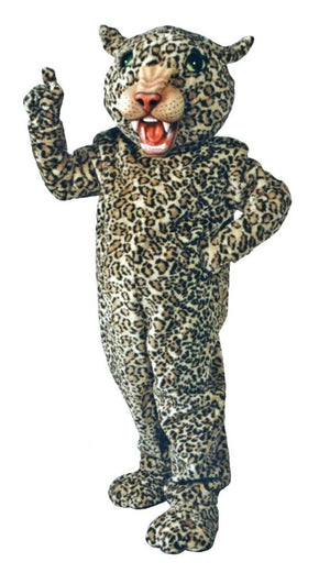 Big Cat Leopard Mascot Costume