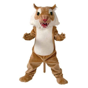 Big Cat Wildcat Mascot Costume