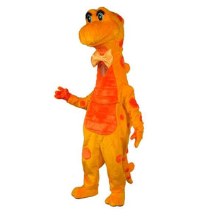 Candy Corn Dino Mascot Costume