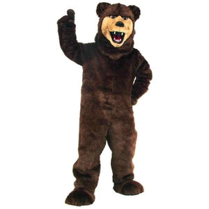 Grizzly Bear Mascot Costume