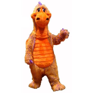 Skittles the Multicolored Dragon Mascot Costume