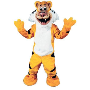 Teeger the Tiger Mascot Costume