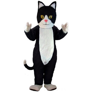 Black & White Cat Lightweight Mascot Costume