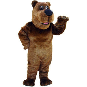 Cartoon Grizzly Lightweight Mascot Costume