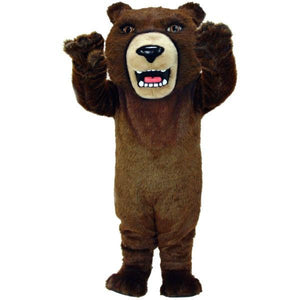 Brown Grizzly Lightweight Mascot Costume