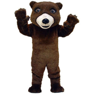 Friendly Grizzly Bear Lightweight Mascot Costume
