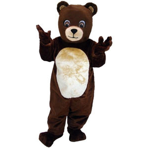 Chocolate Bear Lightweight Mascot Costume