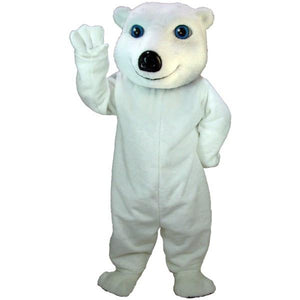 White Bear Lightweight Mascot Costume