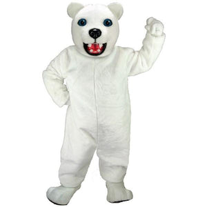Jr Polar Bear Lightweight Mascot Costume