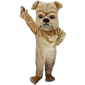 Tan Bulldog Lightweight Mascot Costume