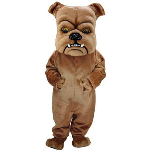 Brown Bulldog Lightweight Mascot Costume