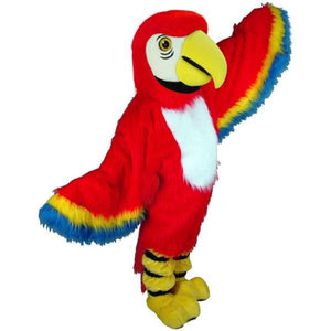 Red Macaw Lightweight Mascot Costume