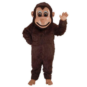 Brown Monkey Lightweight Mascot Costume Adult Size