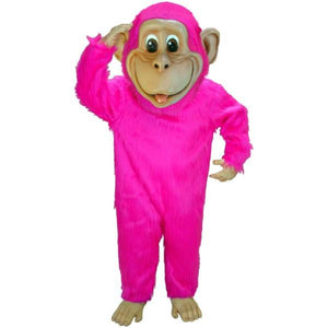 Pink Chimp Lightweight Mascot Costume