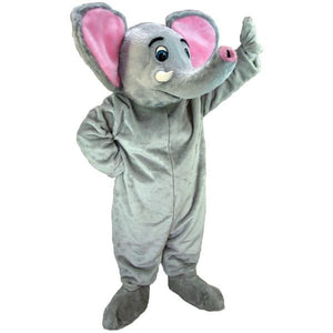Asian Elephant Lightweight Mascot Costume